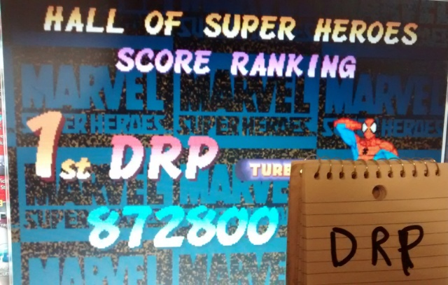 Scootablue: Marvel Super Heroes [msh] (Arcade Emulated / M.A.M.E.) 872,800 points on 2014-06-18 21:40:16