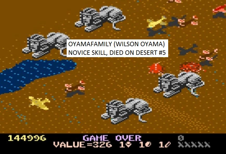 Desert Falcon: Novice 144,996 points