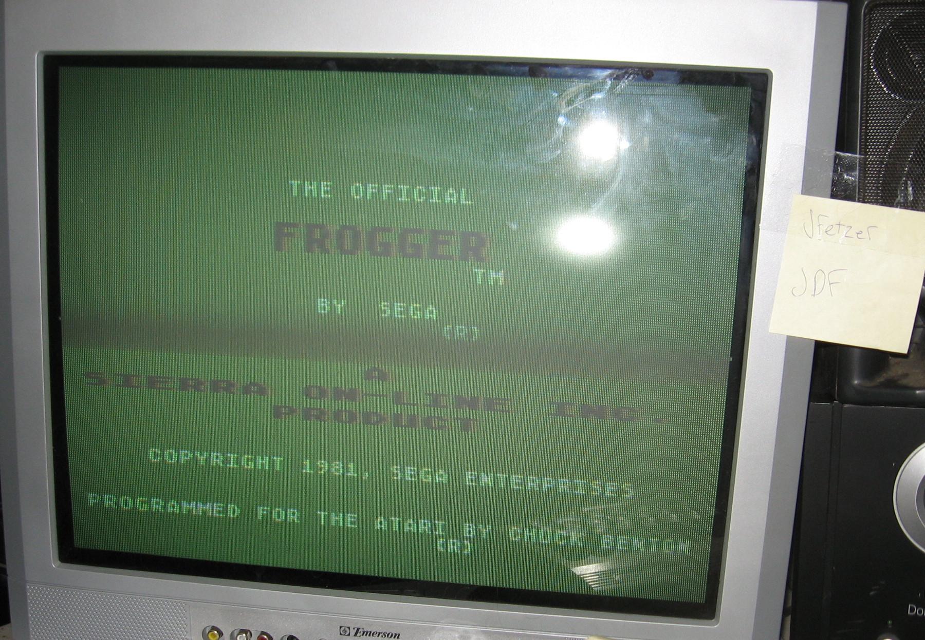 Frogger: Fast [Sierra Online/Chuck Benton] 17,330 points