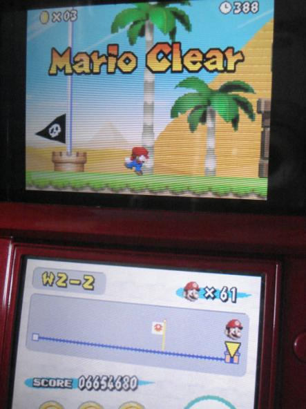 Zimer: New Super Mario Bros.: World 2-2 [Remaining Time] (Nintendo DS) 388 points on 2014-06-19 22:56:06