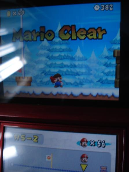 Zimer: New Super Mario Bros.: World 5-2 [Remaining Time] (Nintendo DS) 382 points on 2014-06-19 22:01:15