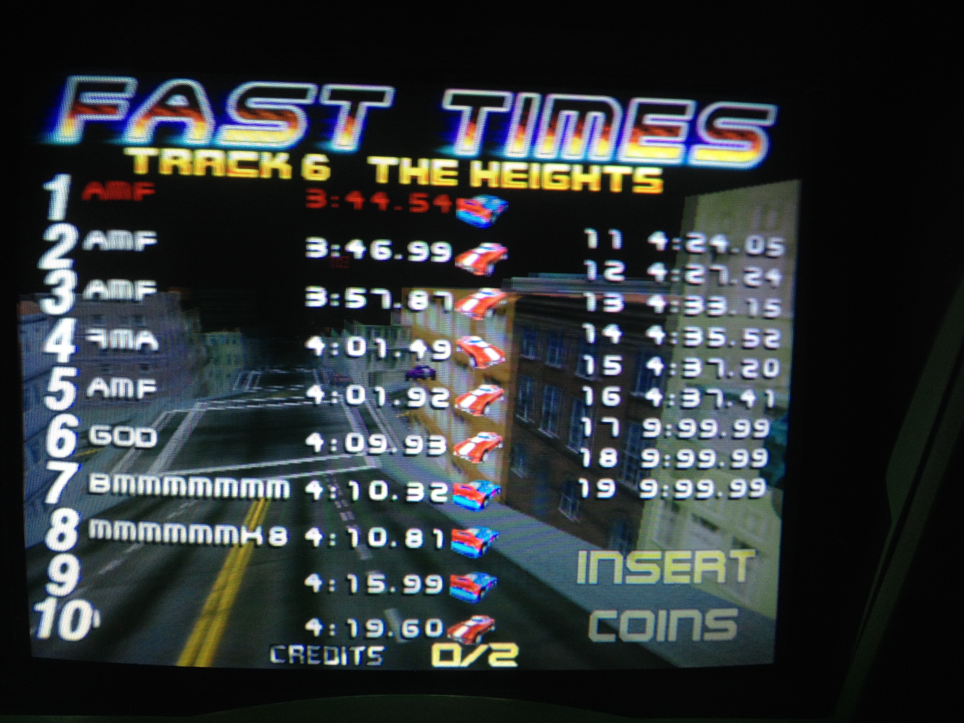 FosterAMF: San Francisco Rush: The Rock [Track 6] (Arcade) 0:03:44.54 points on 2014-06-20 14:20:59