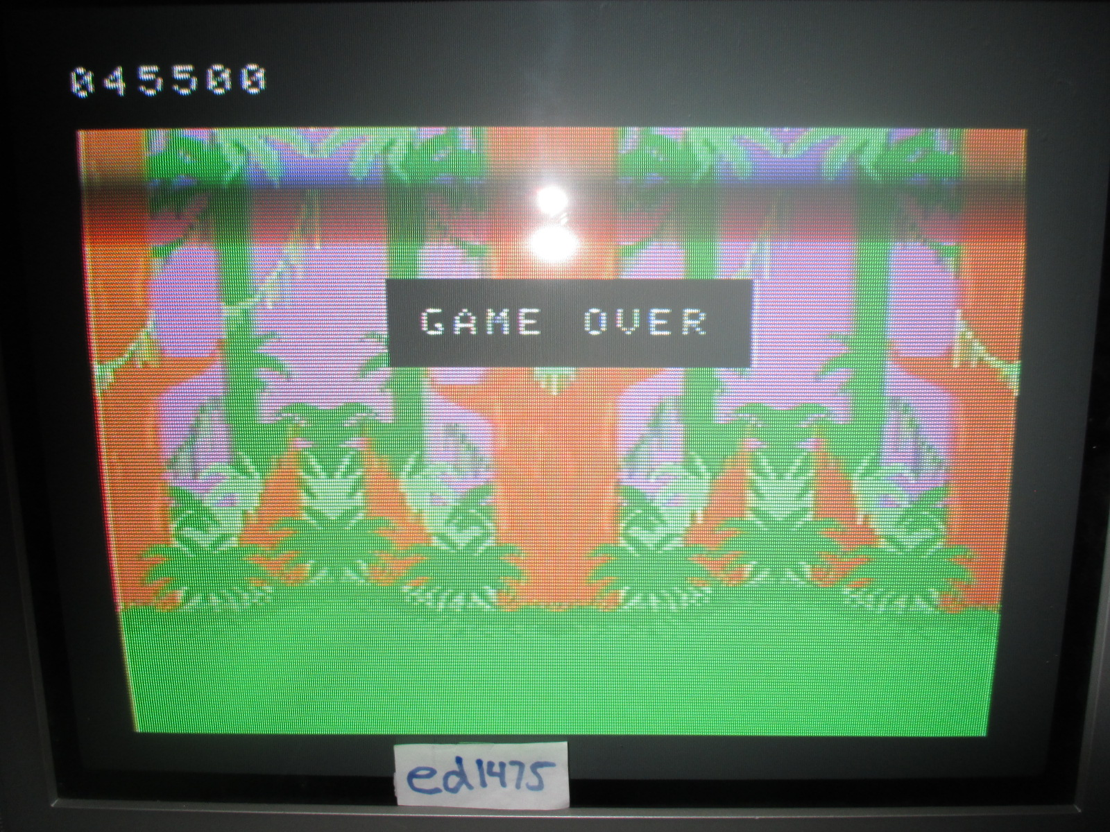 ed1475: Tarzan: Skill 1 (Colecovision) 45,500 points on 2014-06-20 14:39:09