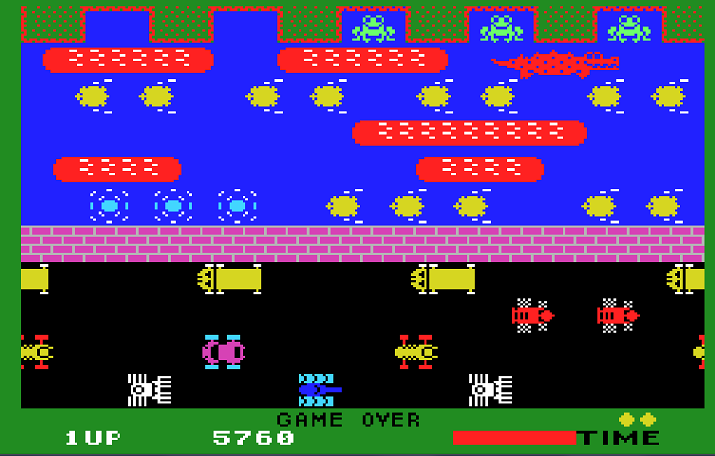Frogger 5,760 points