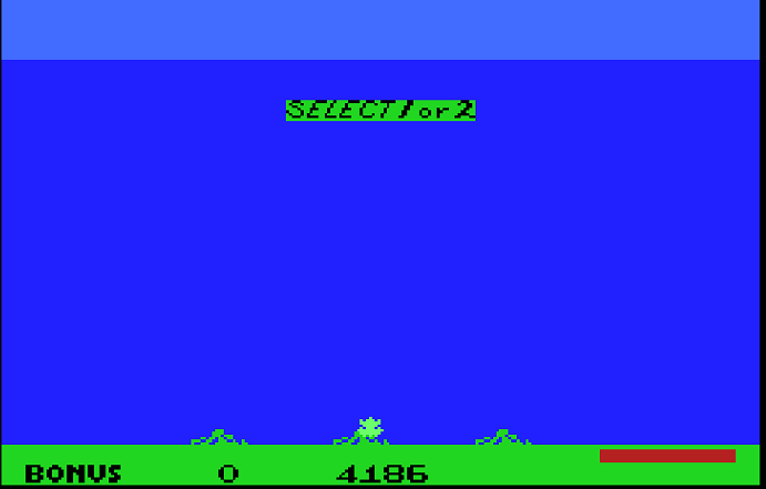 Frogger II: Threedeep 4,186 points