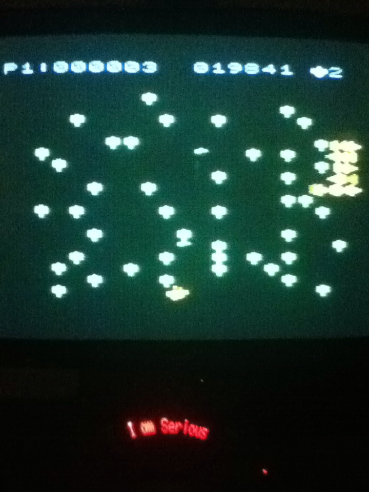 Centipede 19,841 points