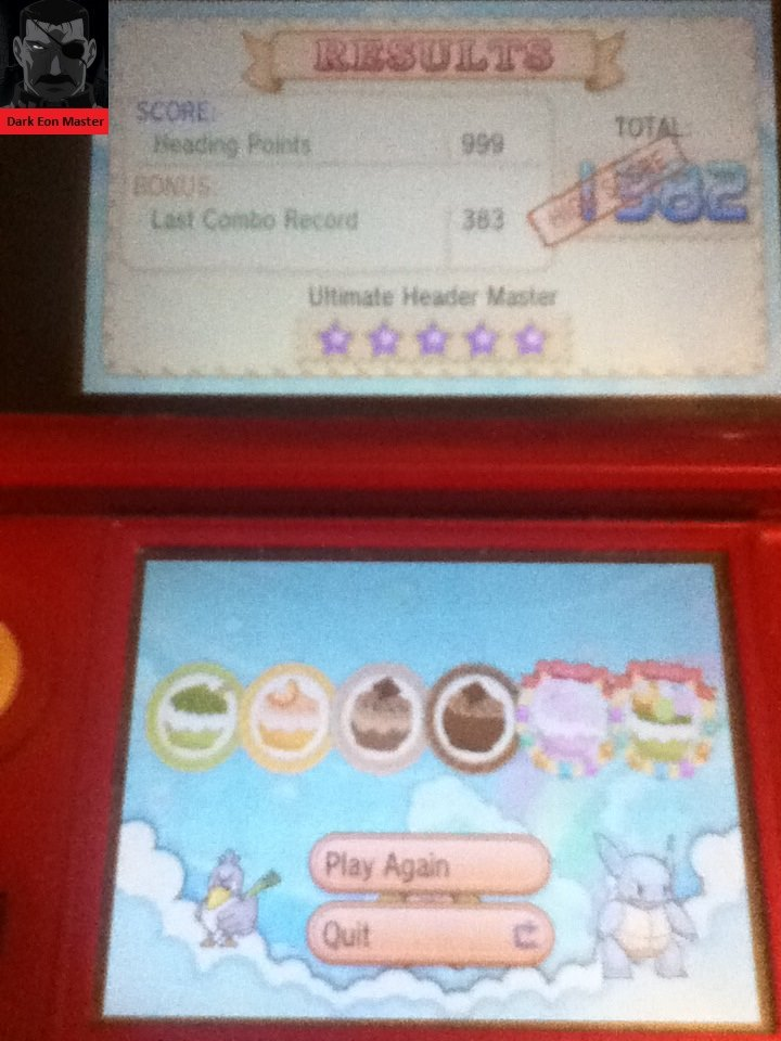 DarkEonMaster: Pokemon X/Y: Pokemon-Amie: Head It [Unlimited] (Nintendo 3DS) 1,382 points on 2014-06-22 19:47:38