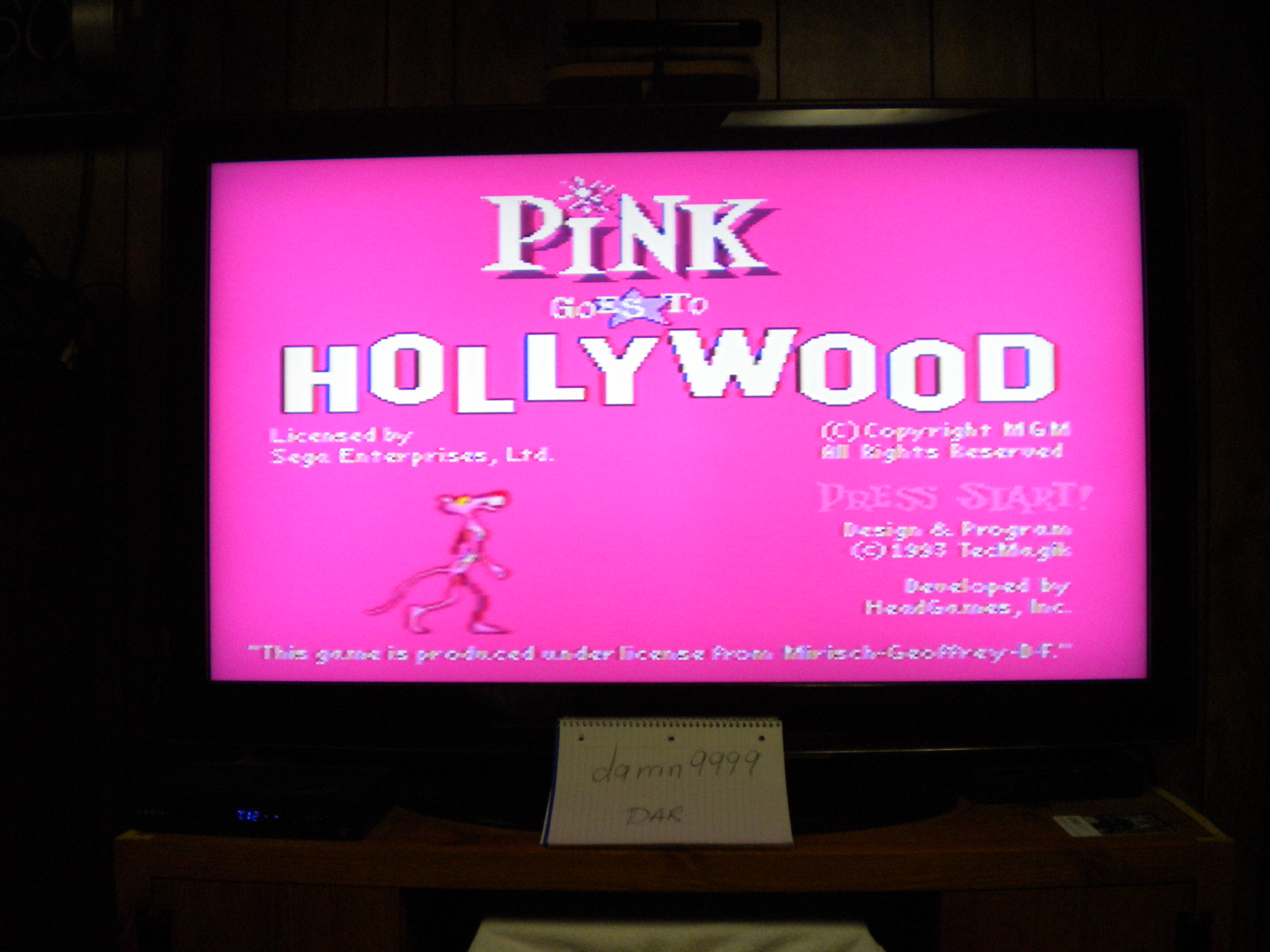 Pink Goes To Hollywood 100 points