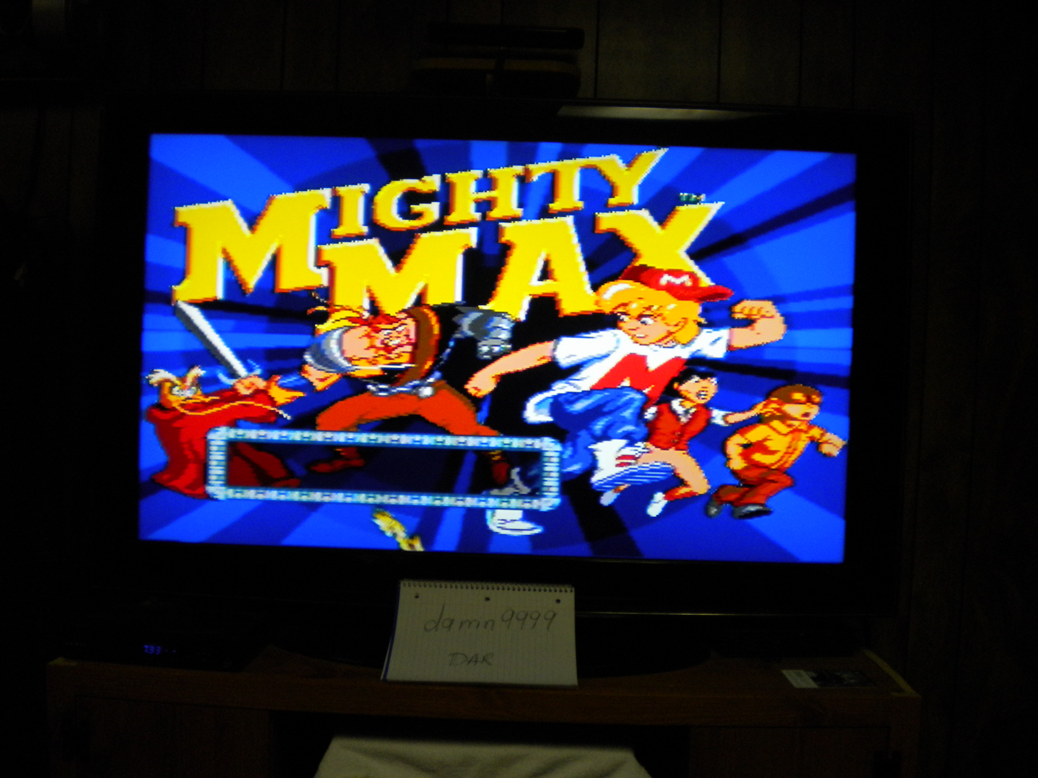 The Adventures of Mighty Max [Normal] 131,600 points