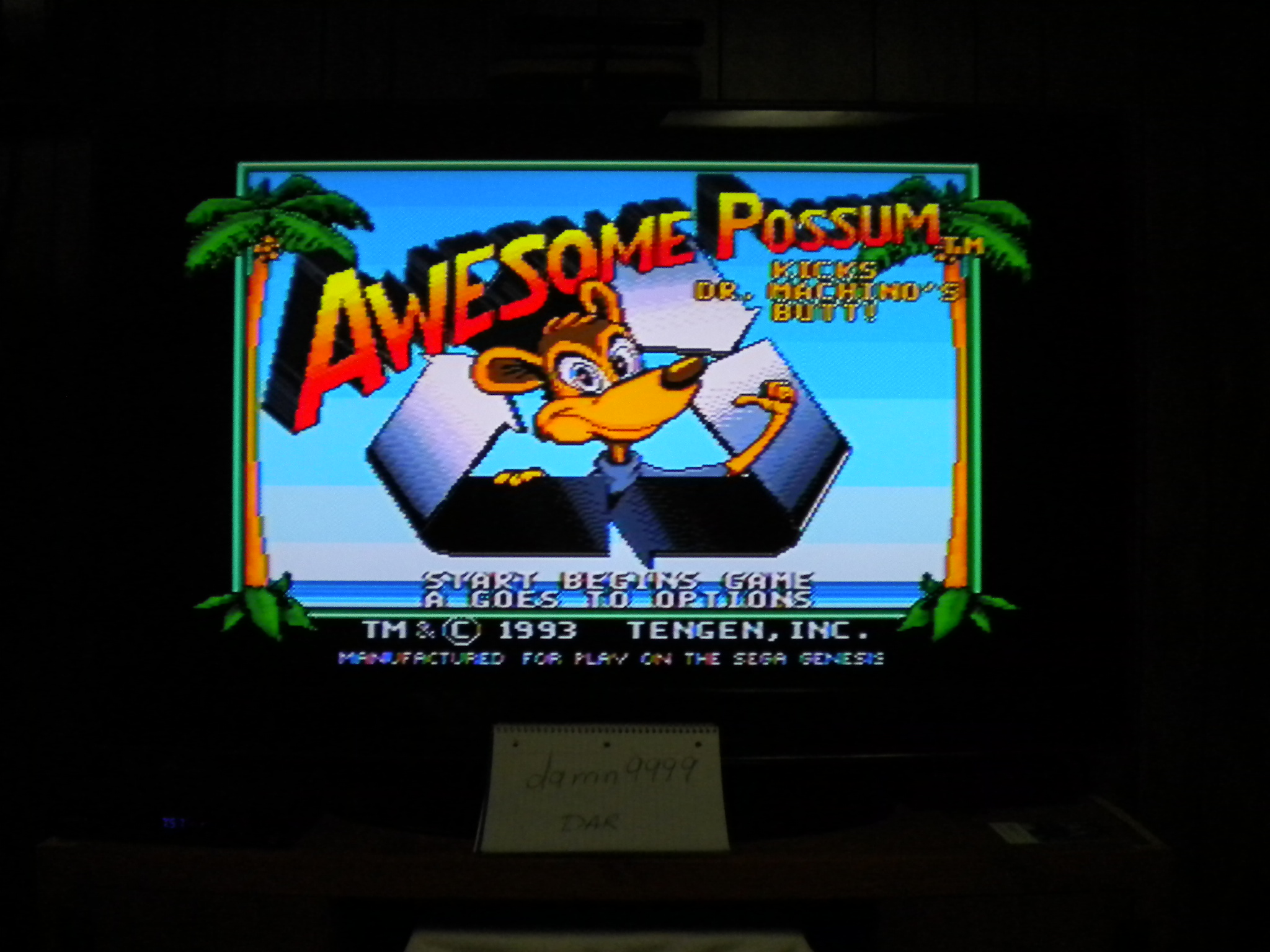 Awesome Possum 4,130 points