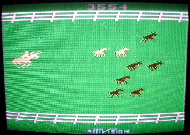 fabriziozavagli: Stampede (Atari 2600 Novice/B) 3,554 points on 2013-09-02 13:32:20