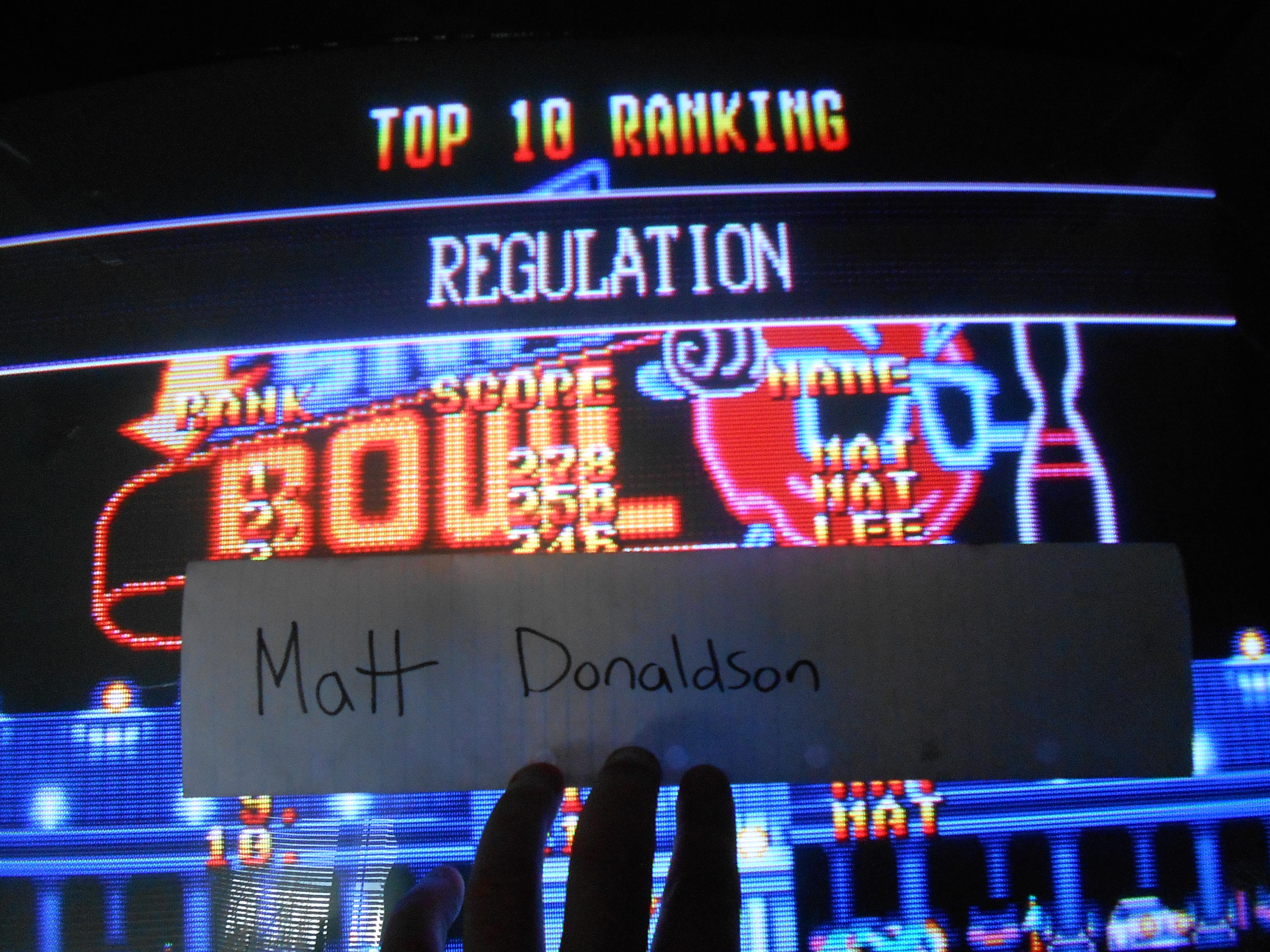 League Bowling: Regulation 278 points