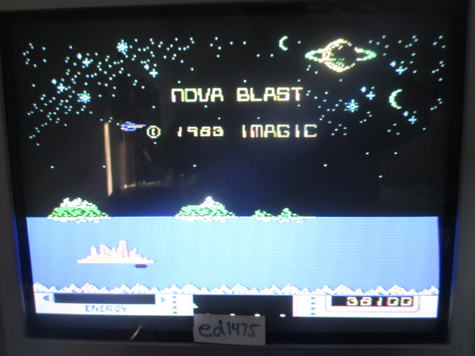 ed1475: Nova Blast (Colecovision) 38,100 points on 2014-06-24 21:04:55