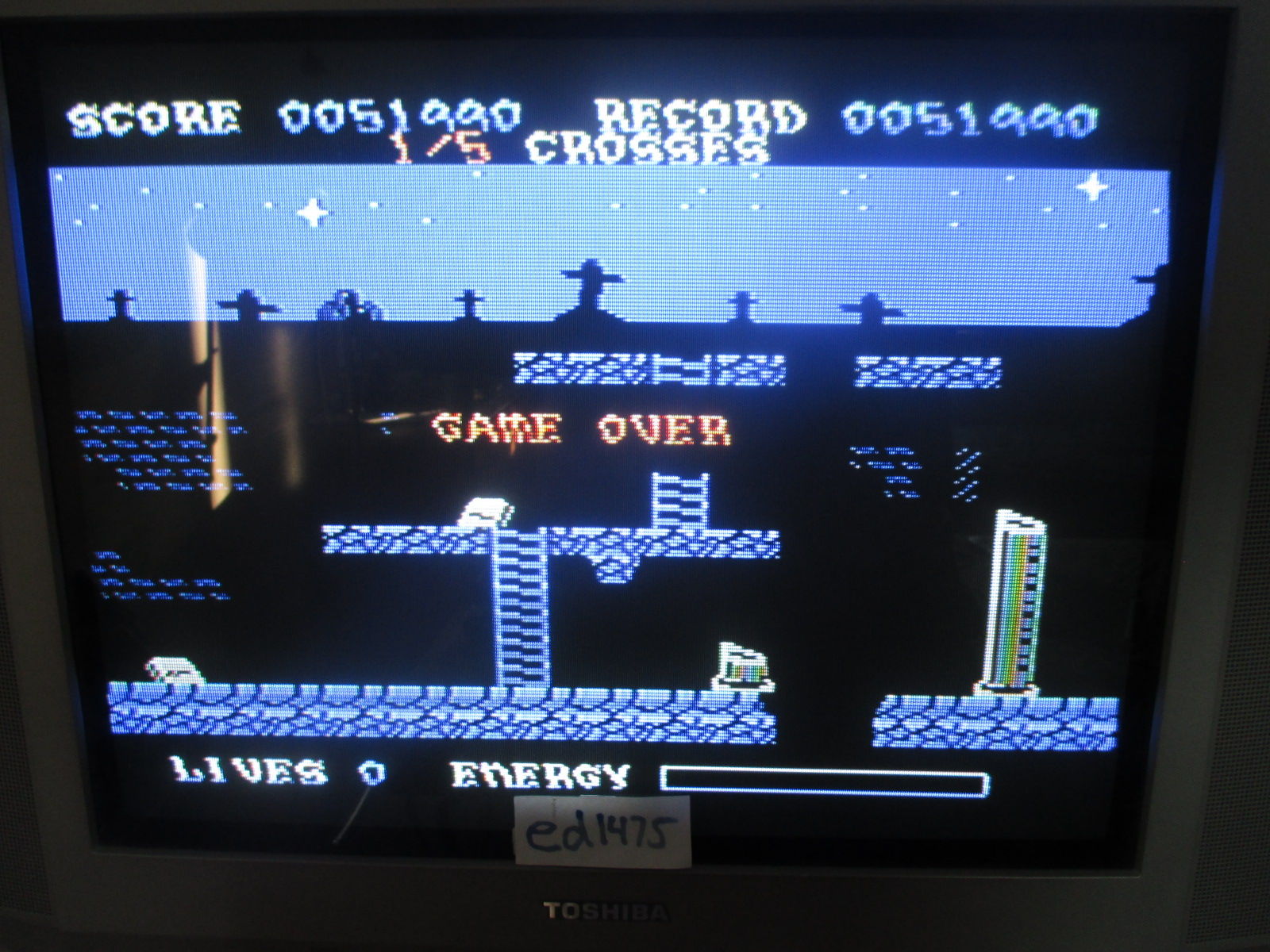 ed1475: Princess Quest (Colecovision) 51,990 points on 2014-06-24 21:05:35