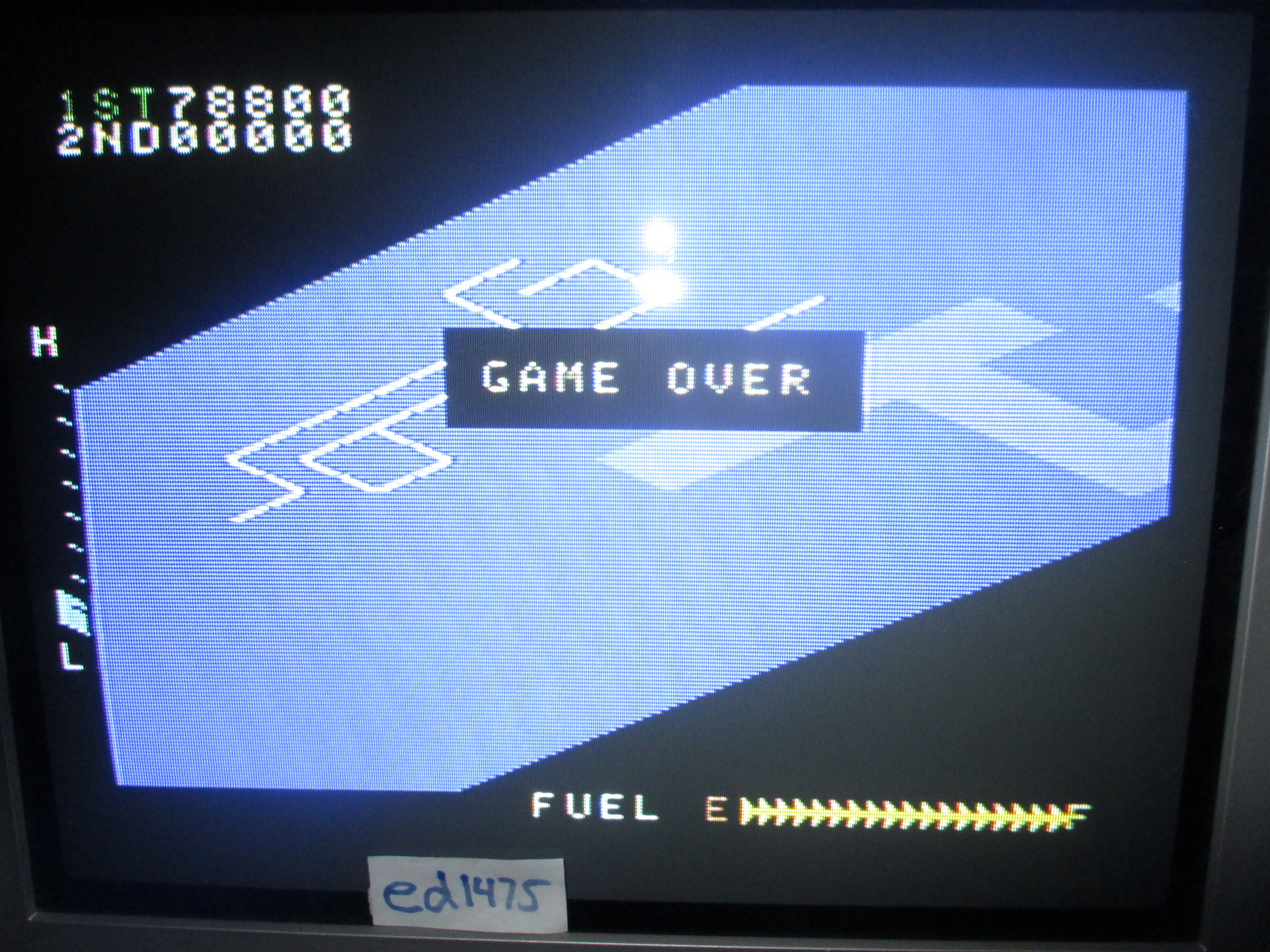 ed1475: Zaxxon (Colecovision) 78,800 points on 2014-06-24 21:07:09