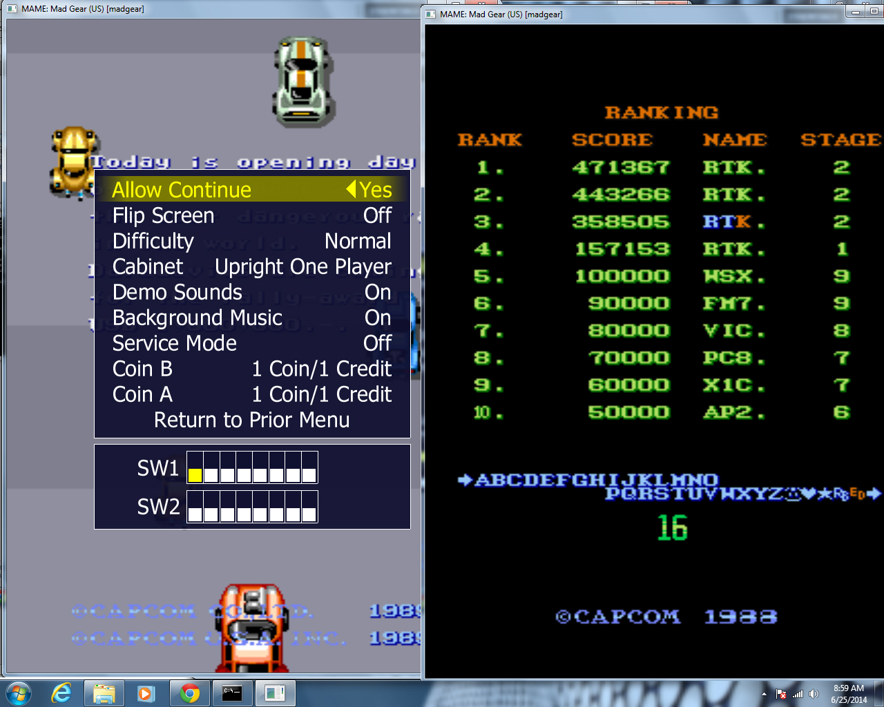 rtkiii: Mad Gear [madgear] (Arcade Emulated / M.A.M.E.) 471,367 points on 2014-06-25 08:04:39