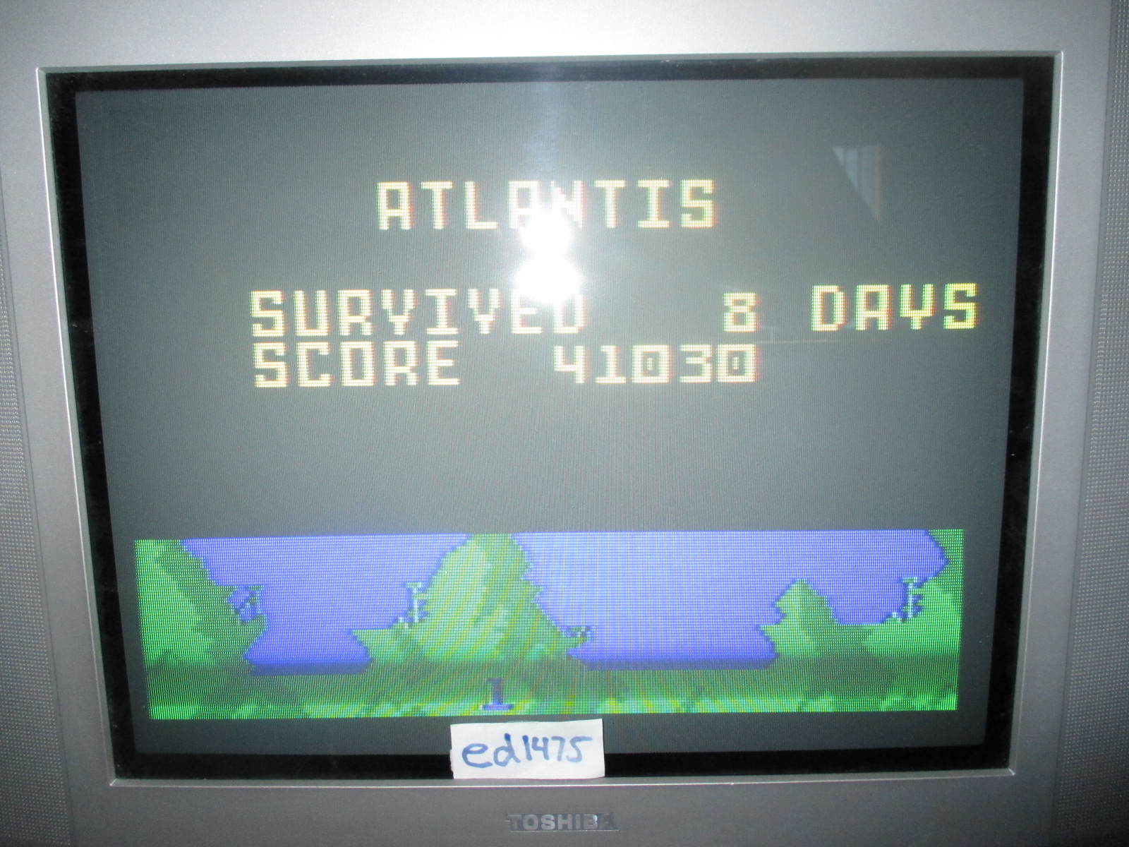 ed1475: Atlantis: Easy (Intellivision) 41,030 points on 2014-06-25 19:29:04
