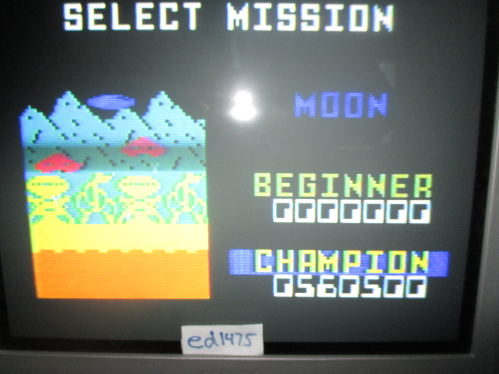 ed1475: Space Patrol: Moon Champion (Intellivision) 560,500 points on 2014-06-25 19:31:50