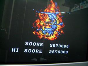 Thunder Blade 2,673,000 points