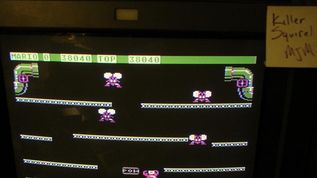 killersquirel: Mario Bros (Atari 400/800/XL/XE) 38,040 points on 2013-09-29 14:45:07