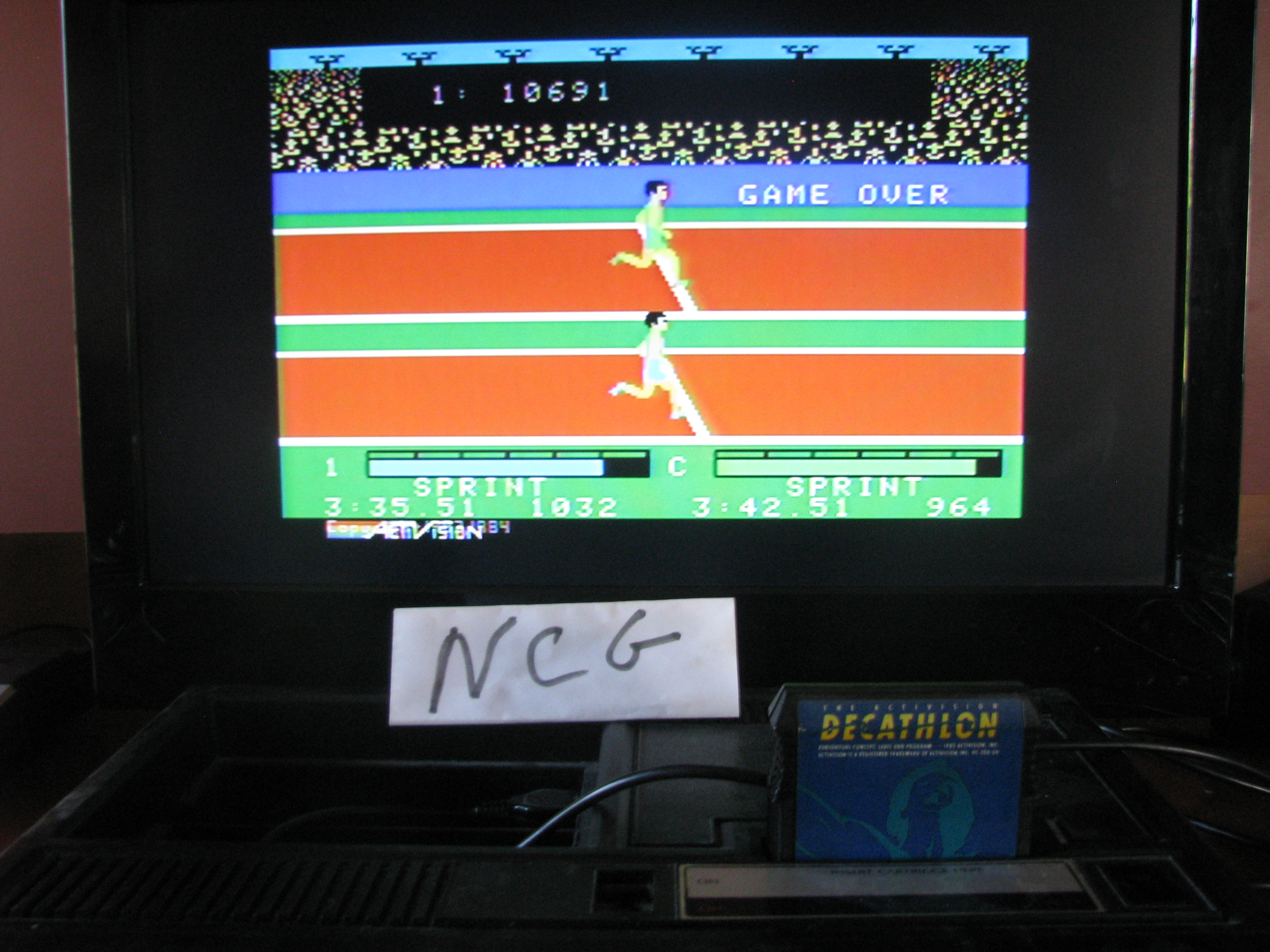 NorthCoastGamer: Activision Decathlon (Colecovision) 10,691 points on 2014-06-26 18:37:25