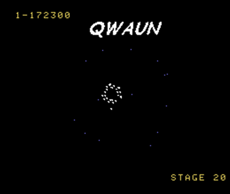 Qwaun: Gyruss (Colecovision Emulated) 172,300 points on 2014-06-28 02:13:11