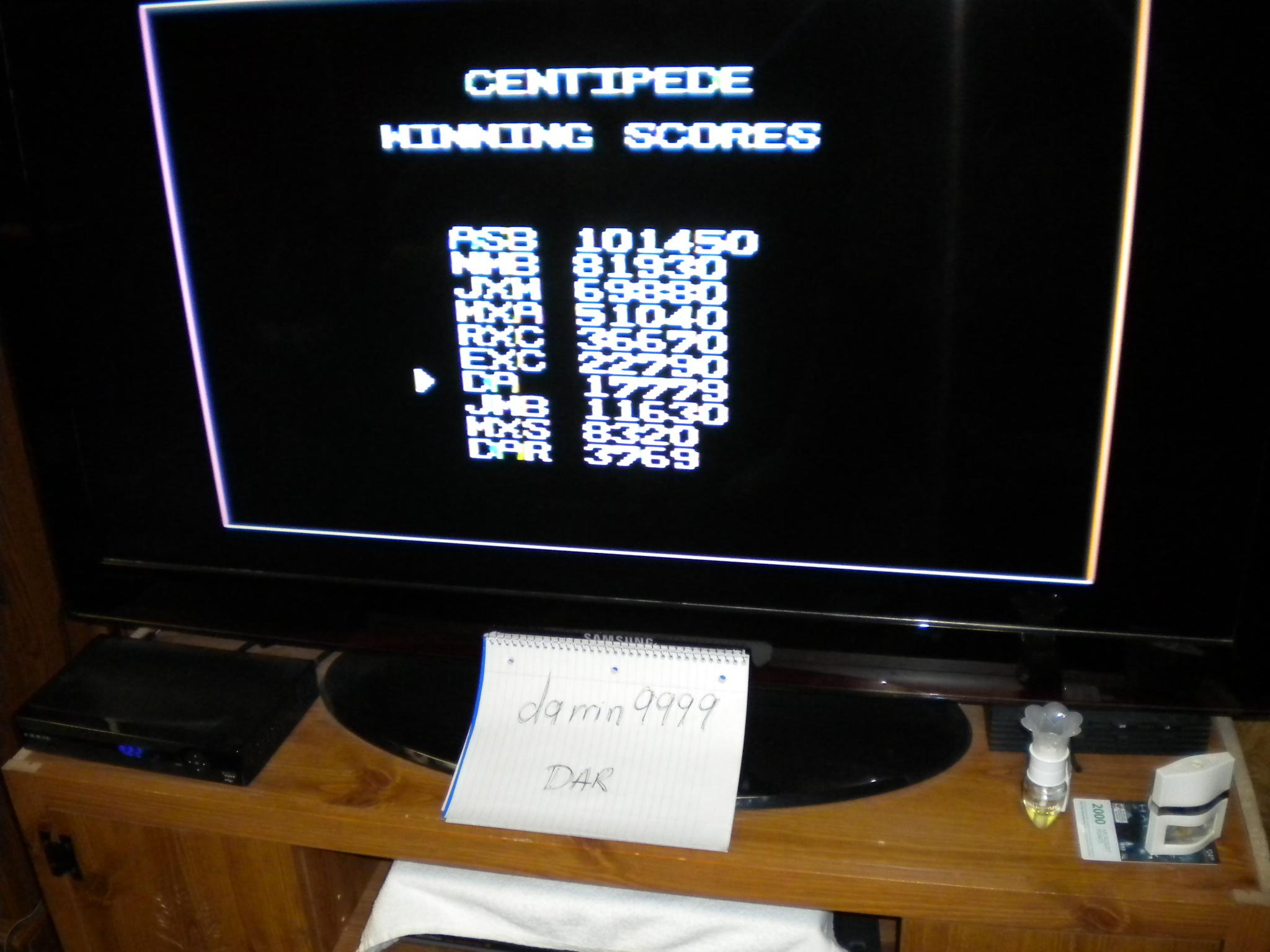 Arcade Classics: Centipede 17,779 points