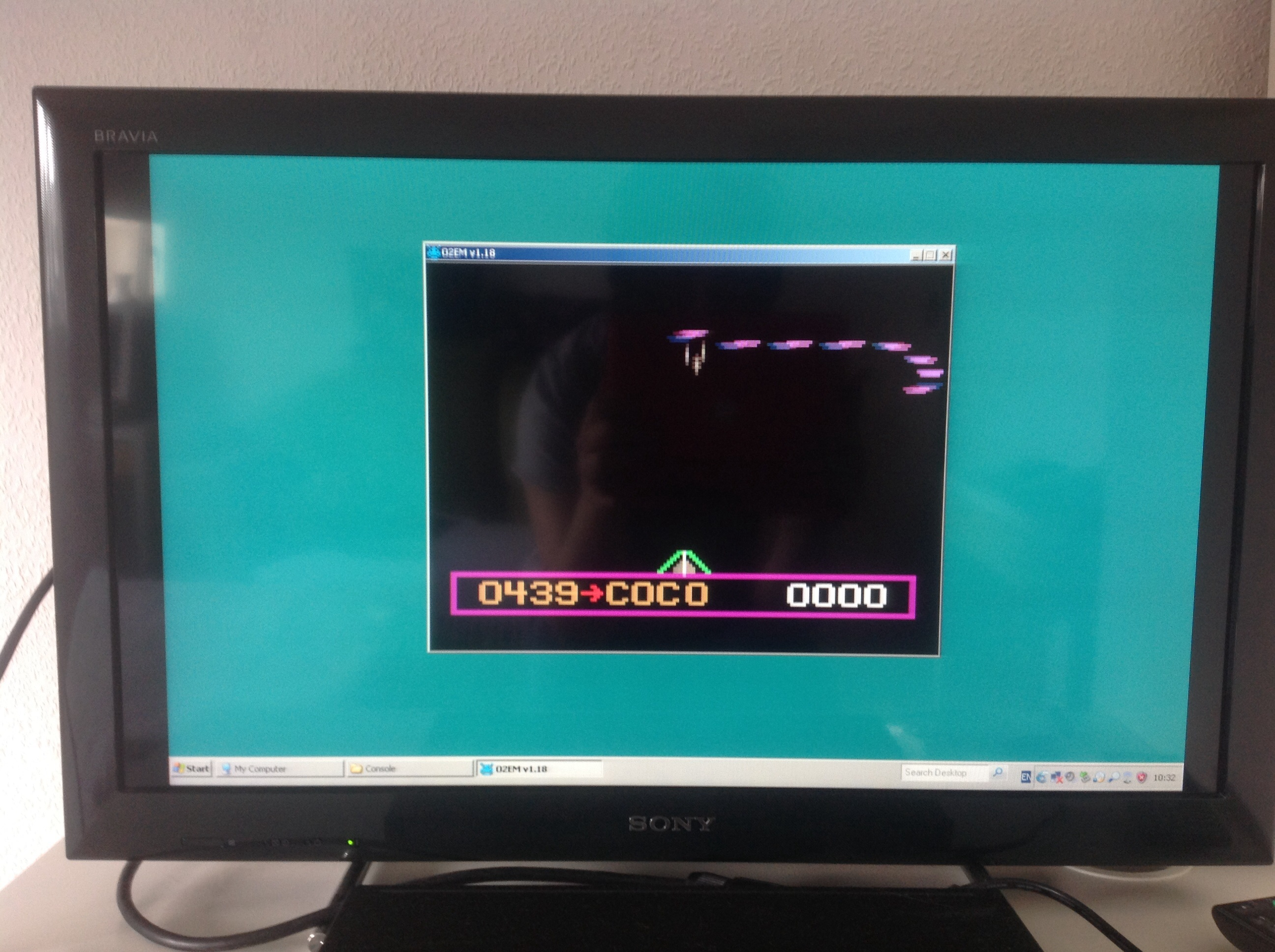 CoCoForest: Attack of the Timelord (Odyssey 2 / Videopac Emulated) 439 points on 2014-06-29 04:27:13