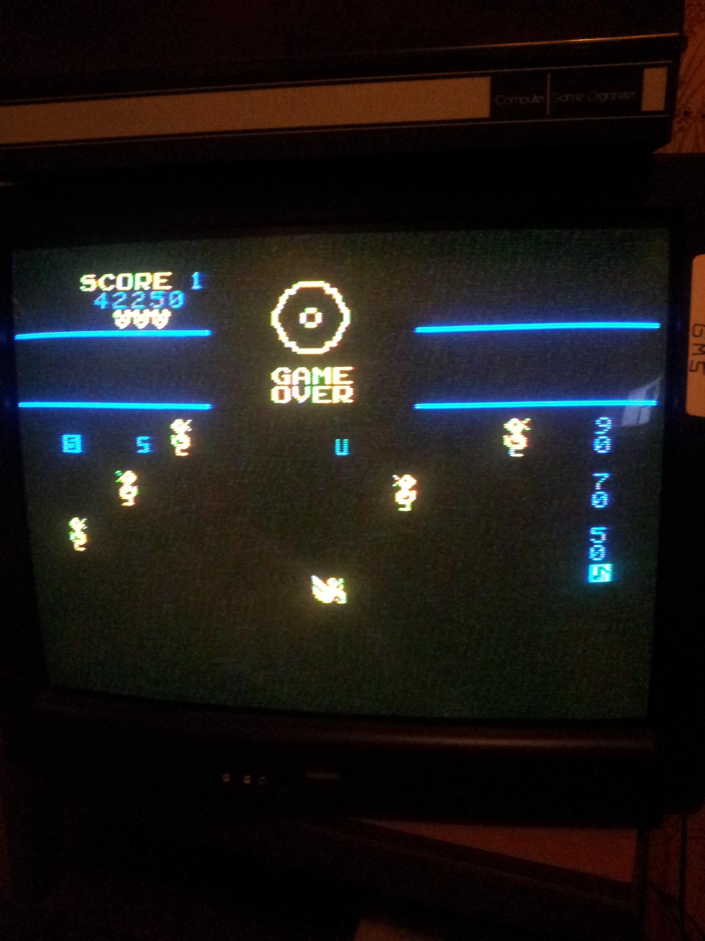 gsampson35: Carnival (Colecovision) 42,250 points on 2013-09-29 15:52:06