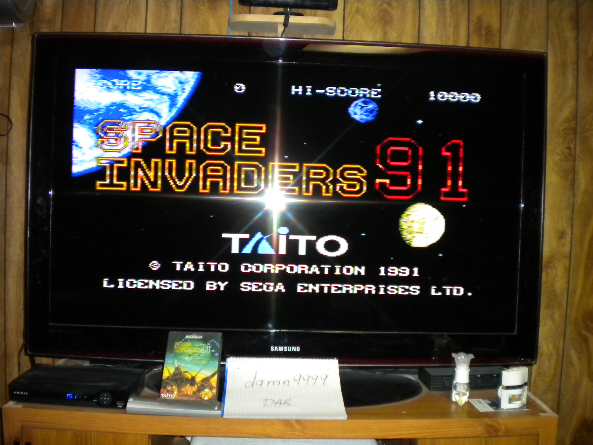 Space Invaders 91 13,630 points