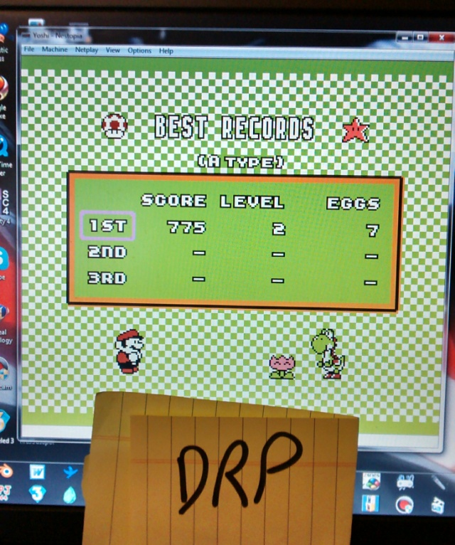 Scootablue: Yoshi [A Type/Low Speed] (NES/Famicom Emulated) 775 points on 2014-06-29 15:15:53