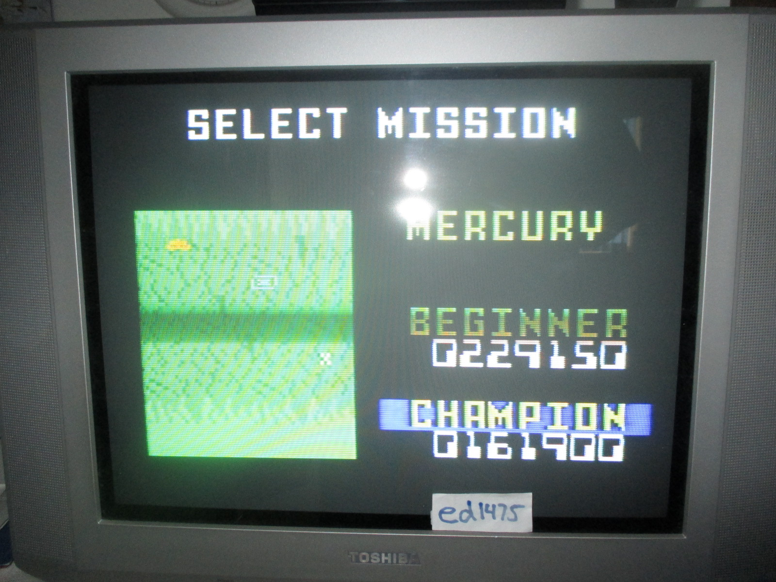 ed1475: Space Patrol: Mercury Champion (Intellivision) 161,900 points on 2014-06-29 17:13:44