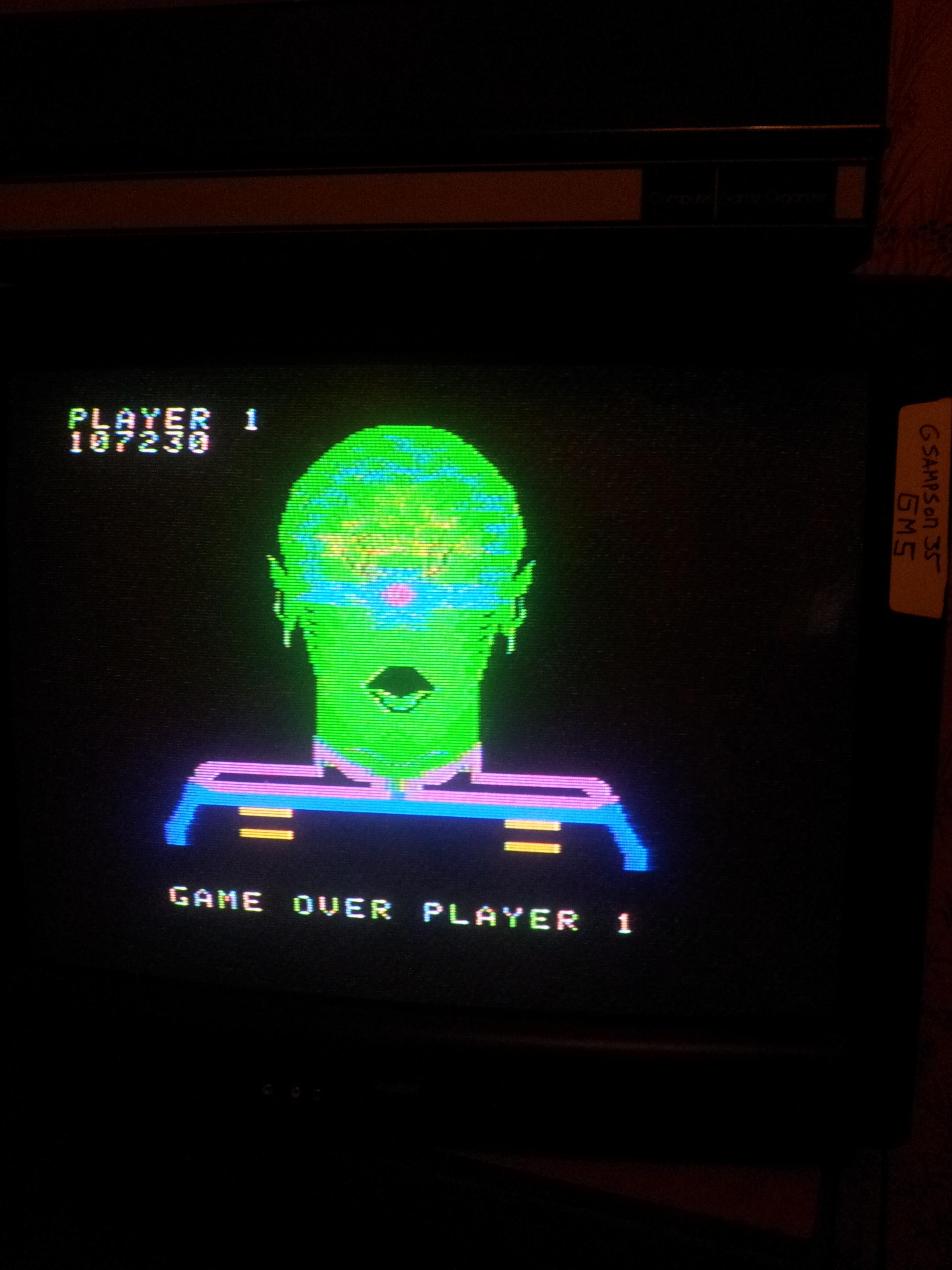 gsampson35: Space Fury (Colecovision) 107,230 points on 2013-09-29 16:20:02