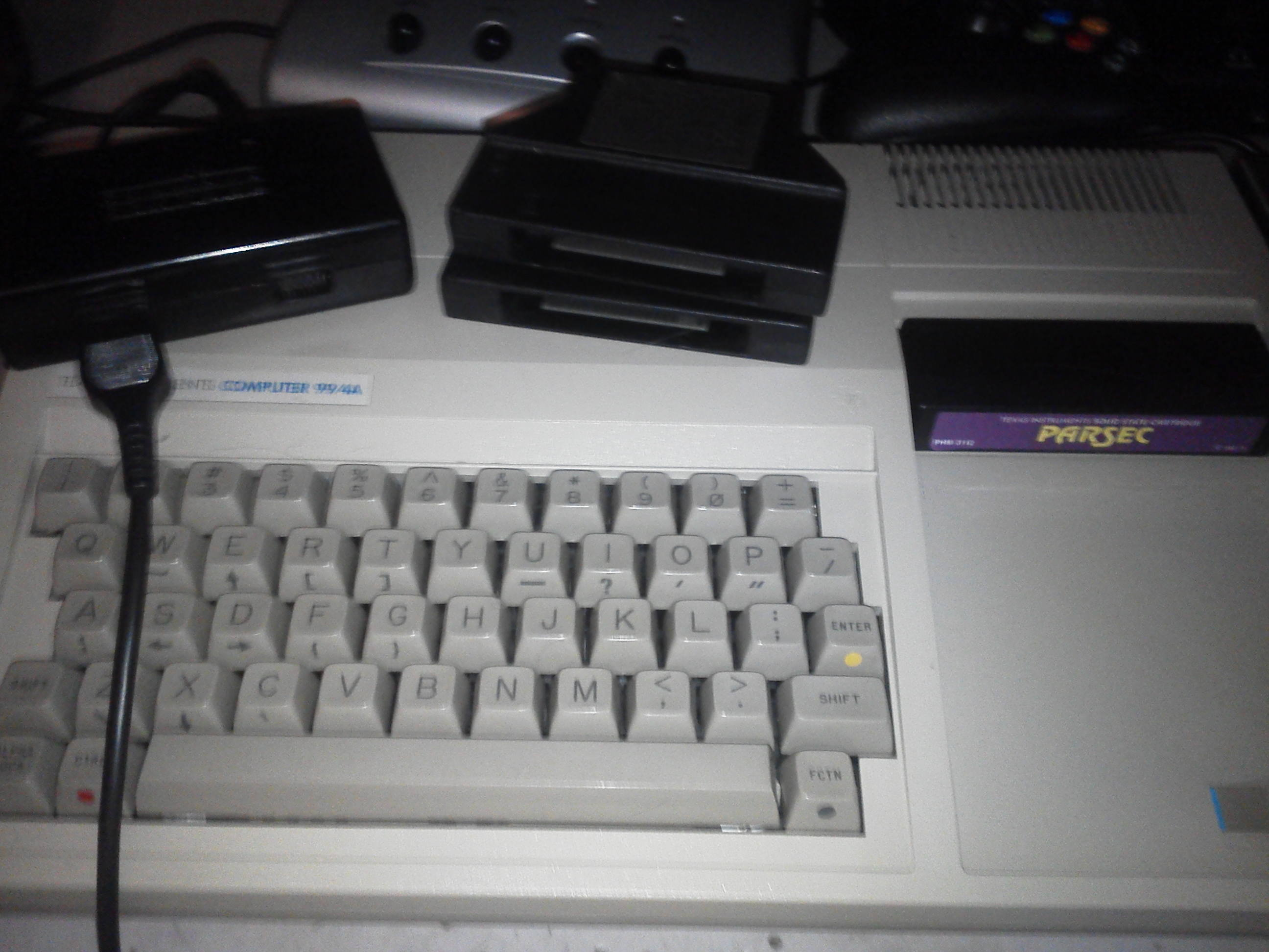 jfetzer: Parsec (TI 99/4A) 14,400 points on 2014-06-29 18:21:50