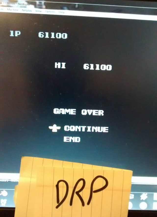 Contra 61,100 points
