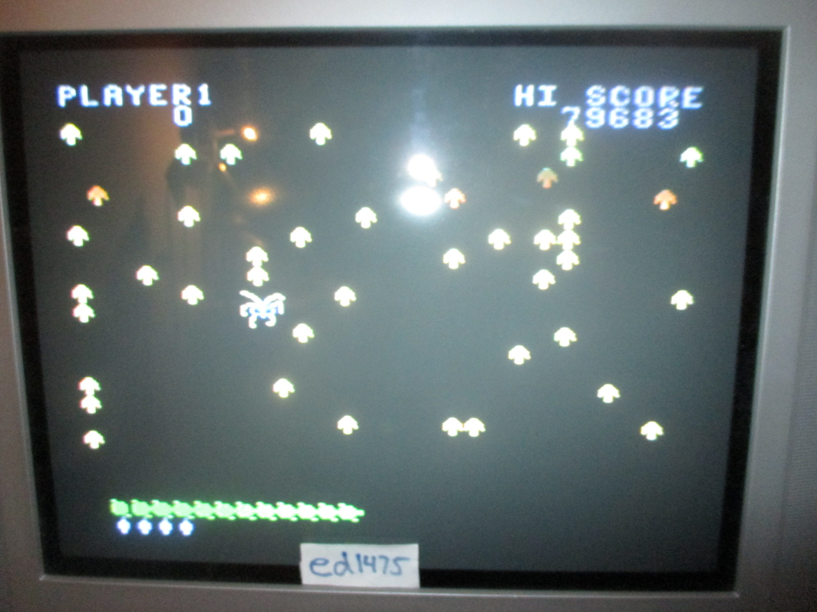 ed1475: Centipede: Easy (Colecovision) 79,683 points on 2014-06-30 19:42:38