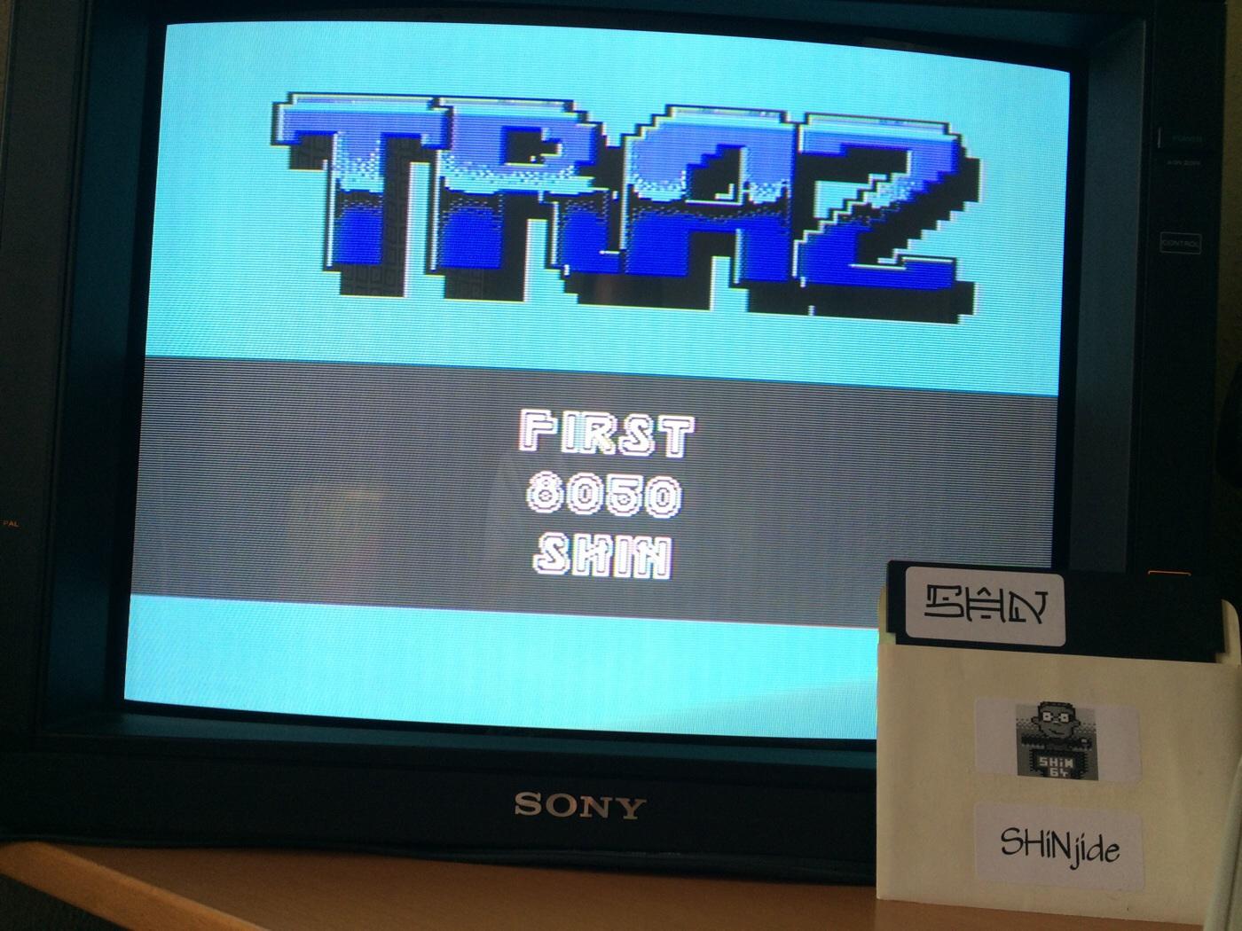 SHiNjide: TRAZ (Commodore 64) 8,050 points on 2014-07-01 12:26:30
