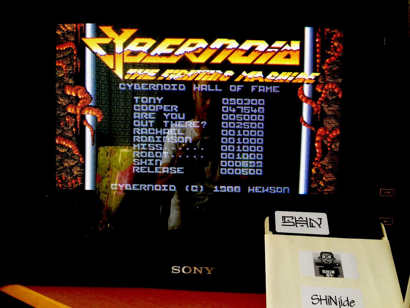 SHiNjide: Cybernoid (Amiga) 699 points on 2014-07-02 08:10:42