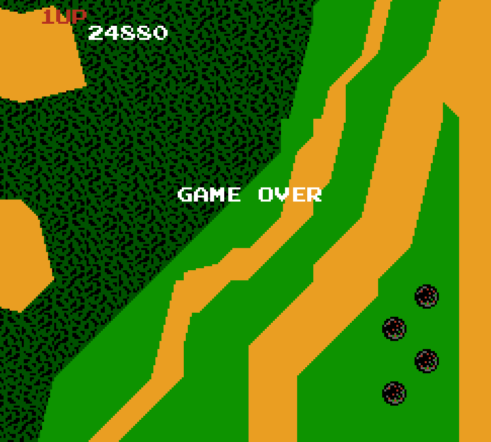 Xevious 24,880 points