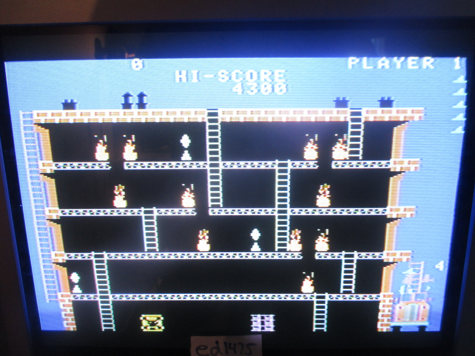 ed1475: Fireman: Skill 1 (Colecovision) 4,300 points on 2014-07-02 20:21:05