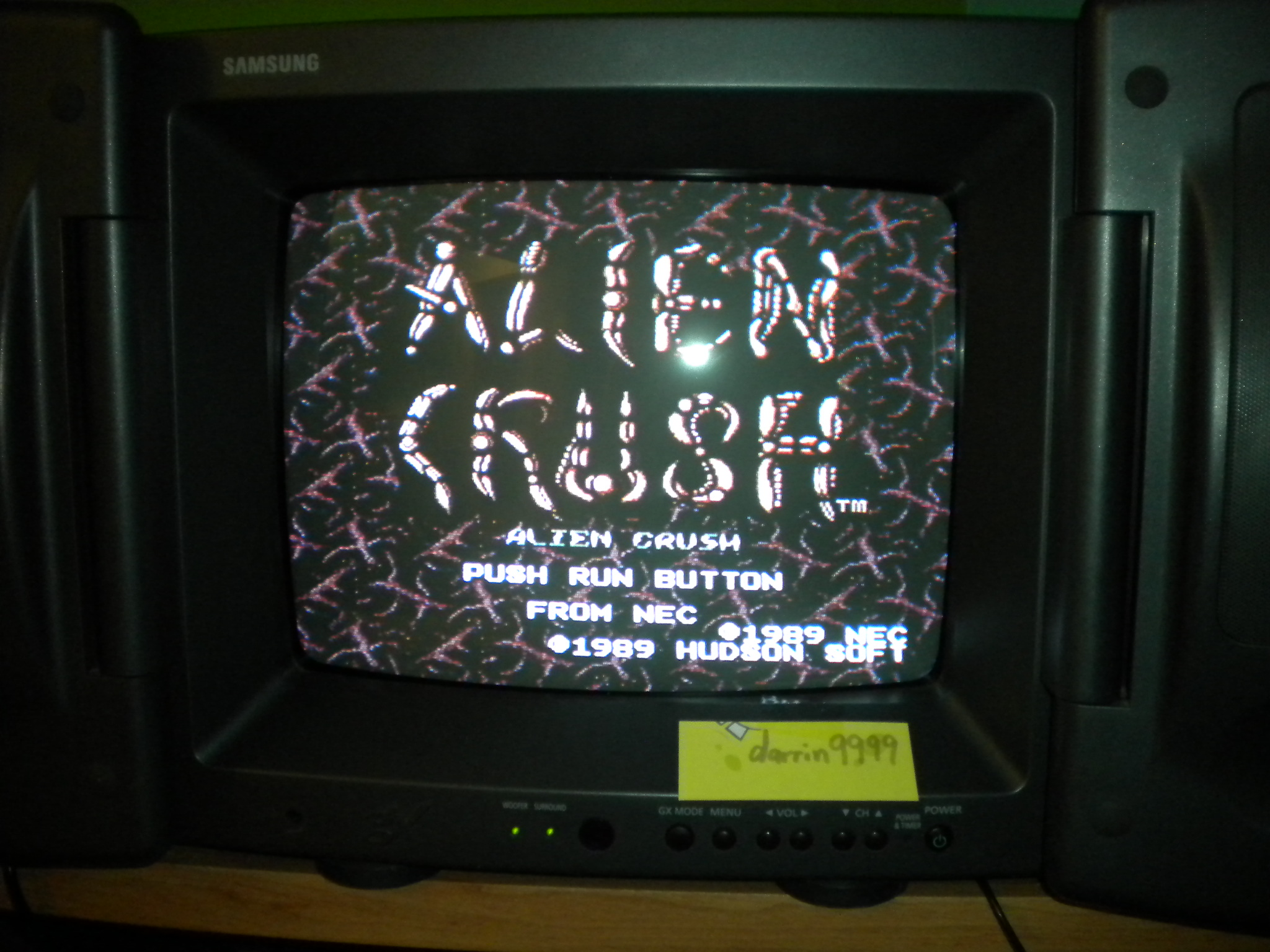 Alien Crush 948,400 points