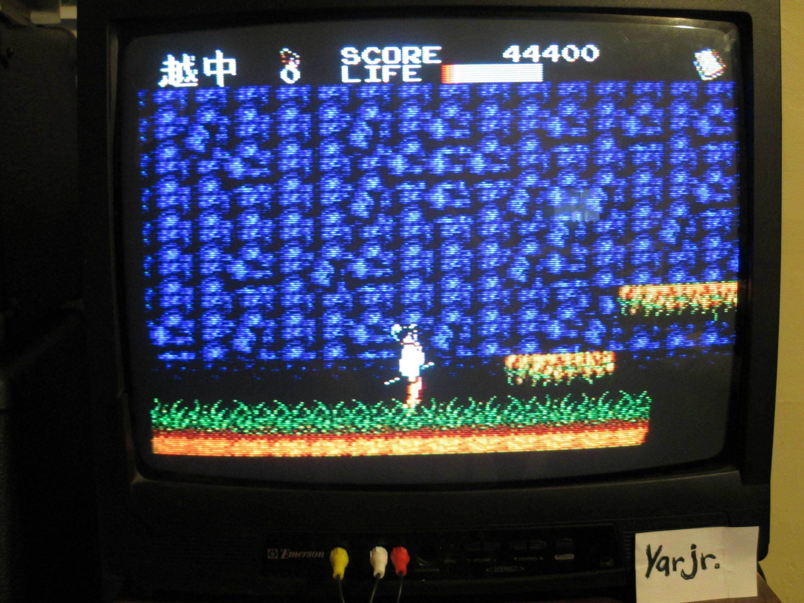 yarjr: Kenseiden (Sega Master System) 44,400 points on 2013-09-02 23:32:43
