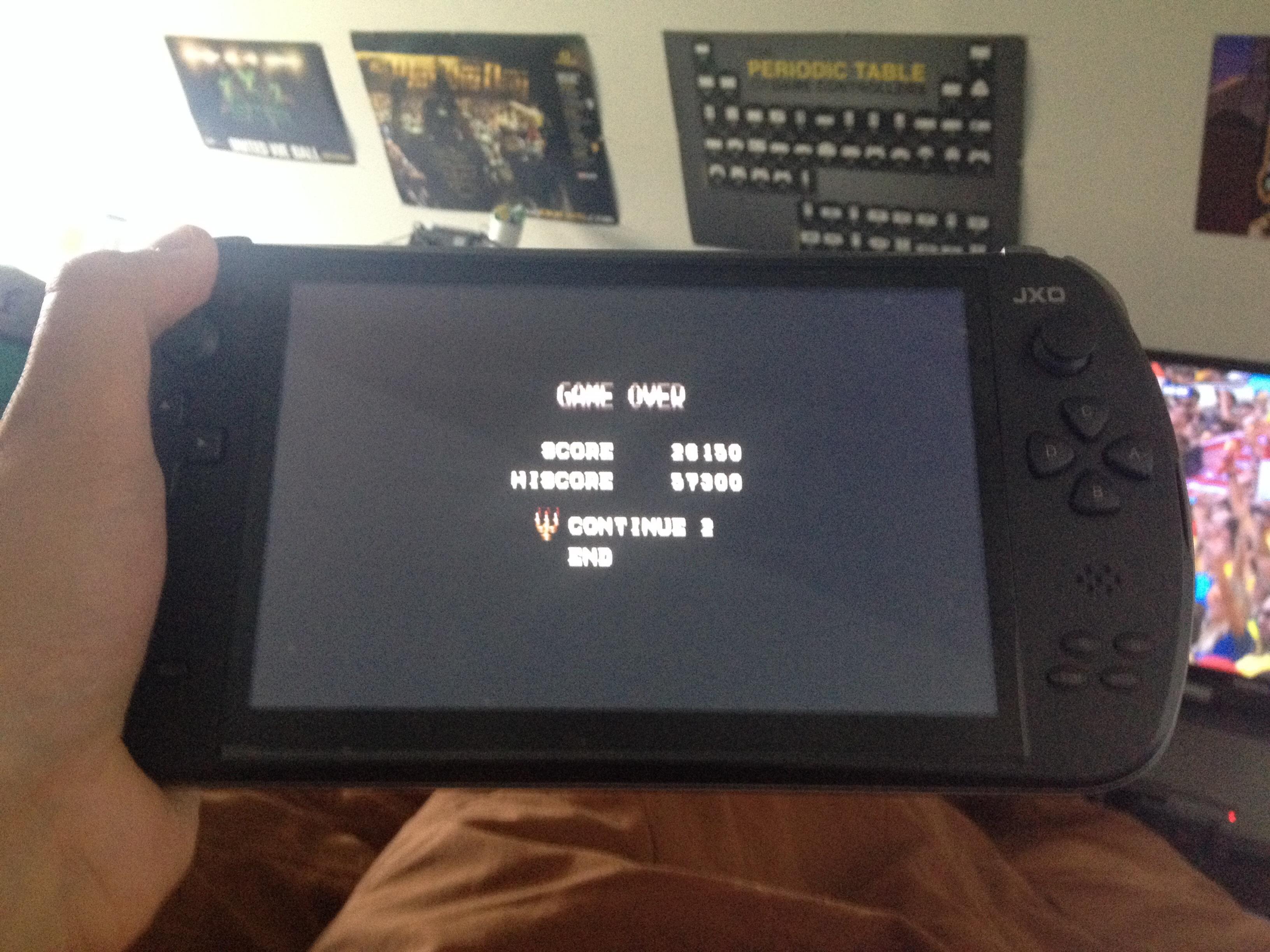 FosterAMF: Castlevania: Bloodlines (Sega Genesis / MegaDrive Emulated) 26,150 points on 2014-07-04 12:25:00
