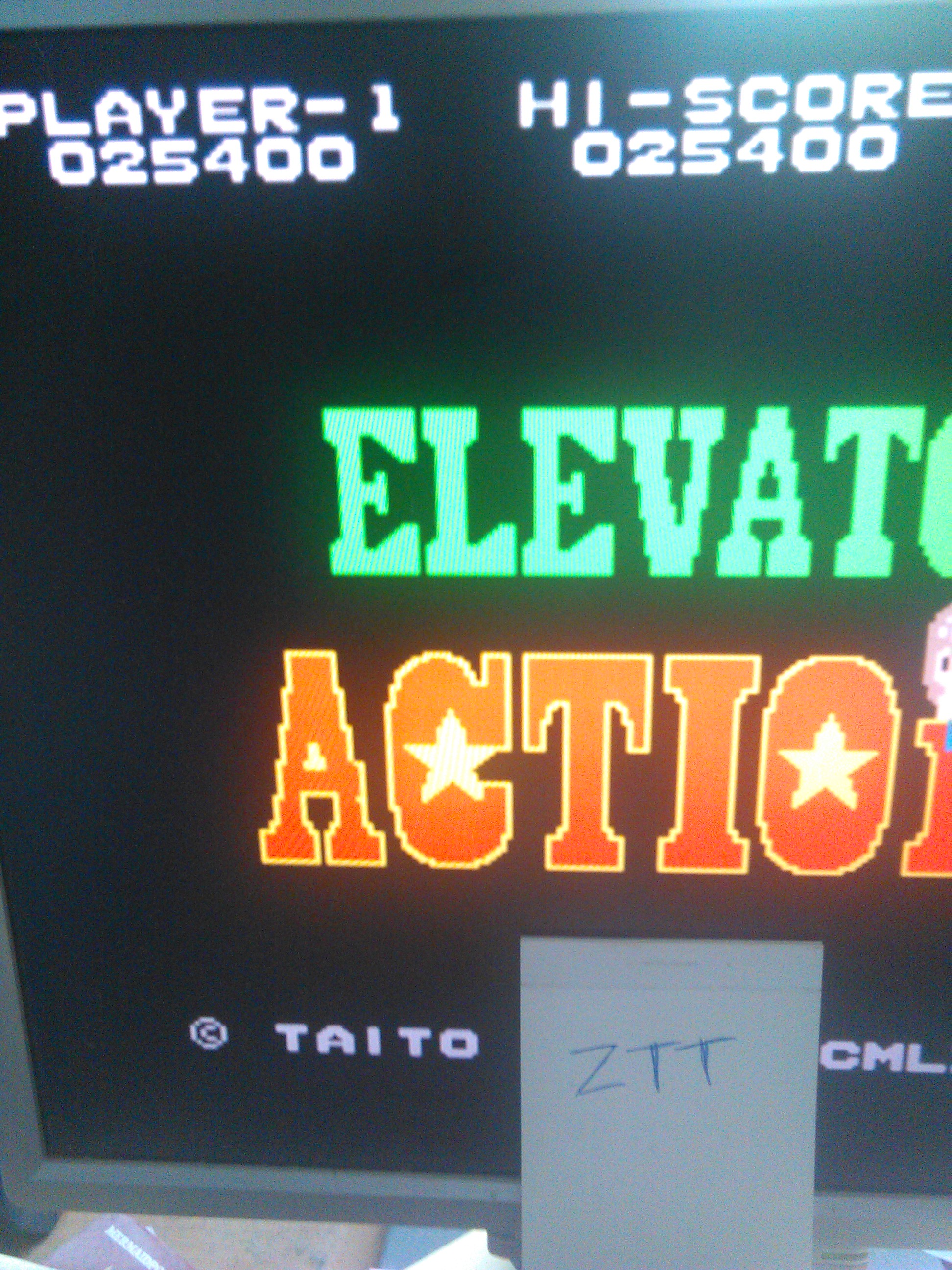 Elevator Action 25,400 points