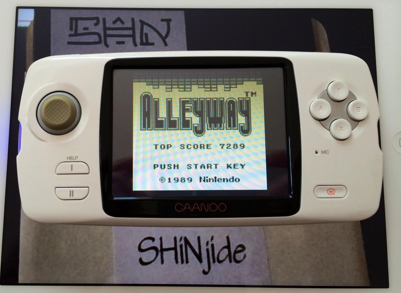 SHiNjide: Alleyway (Game Boy Emulated) 7,289 points on 2014-07-06 15:22:29