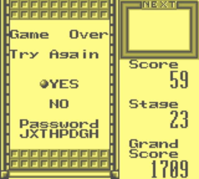 Tetris Blast [Contest] 1,709 points