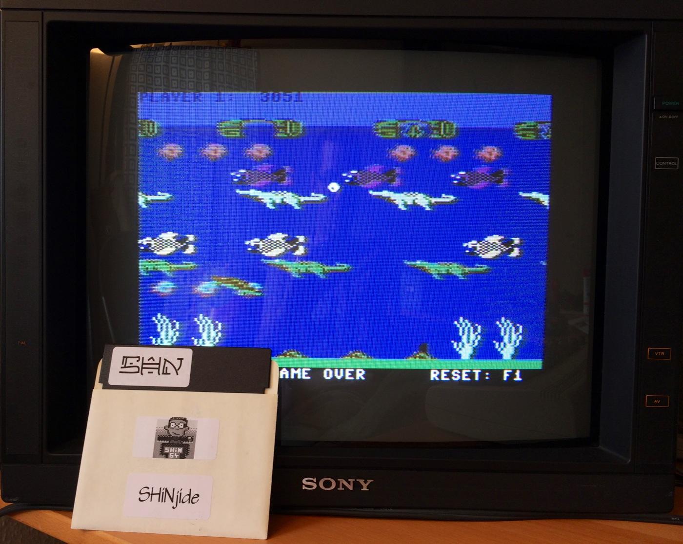 Frogger II - Threedeep: Hard 3,051 points