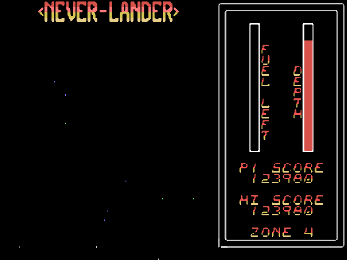 Never-Lander 123,980 points