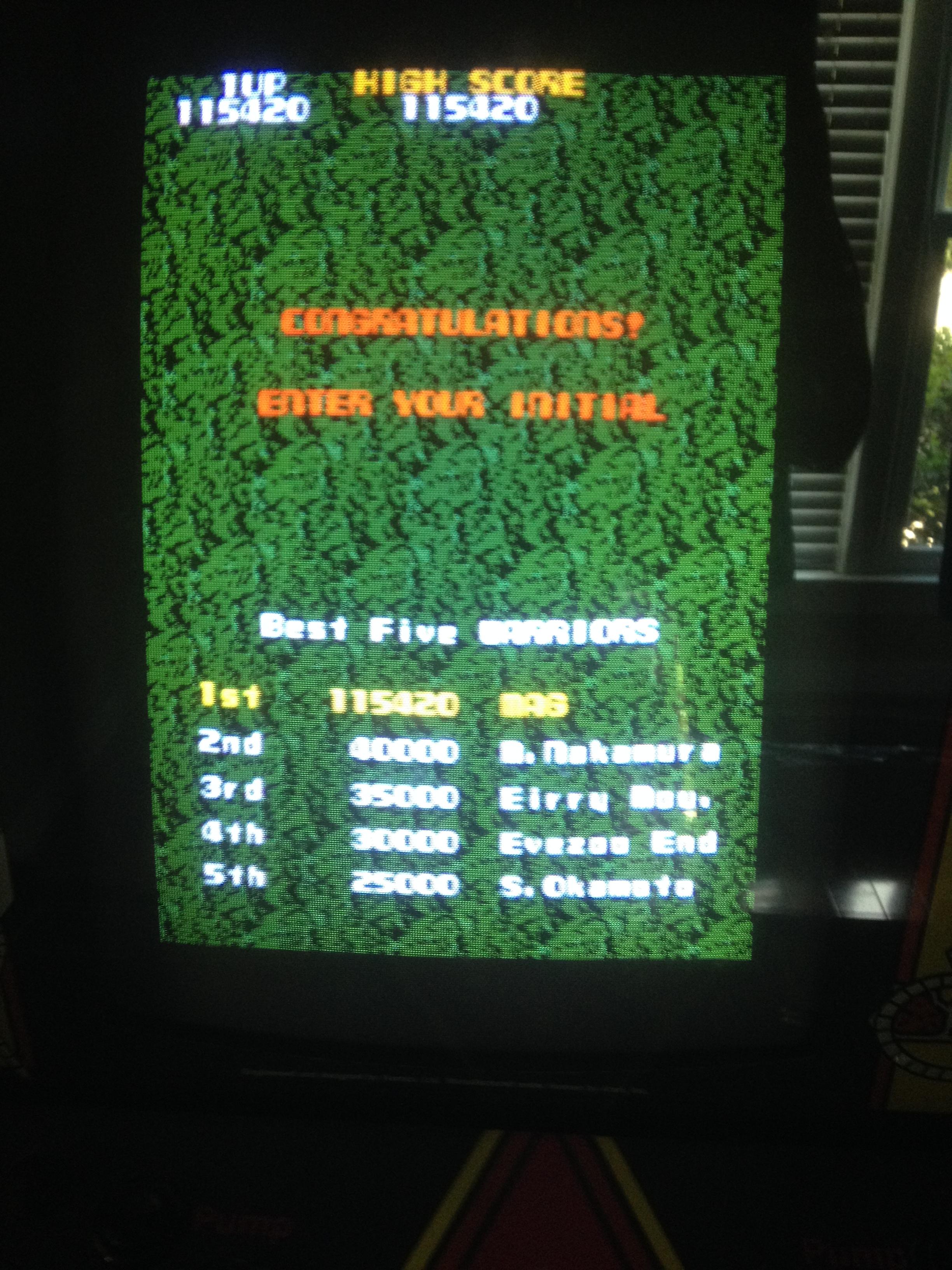 Magpie: Xevious (Arcade) 115,420 points on 2014-07-08 05:46:40