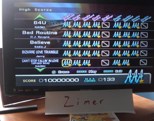 Zimer: DDR Extreme: Can